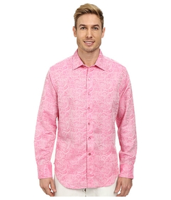 Chiefdom Long Sleeve Woven Shirt by Robert Graham in The Big Bang Theory