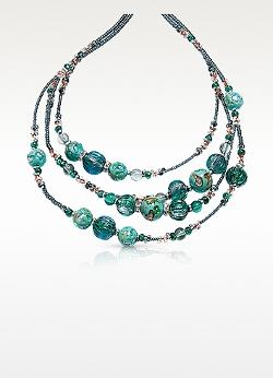 Elizabeth Murano Glass Necklace by Antica Murrina in Little Fockers