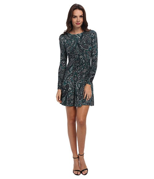 Ashbury Paisley-Print Sweater Dress by Michael Kors in If I Stay