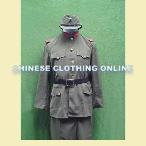 Japanese Army Uniform by Chinese Clothing Online in Unbroken