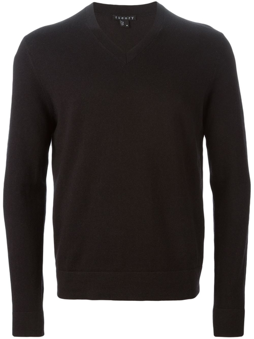Classic V-Neck Sweater by Theory in The Spy Who Loved Me