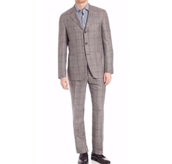 Plaid Suit by Kiton in Ballers