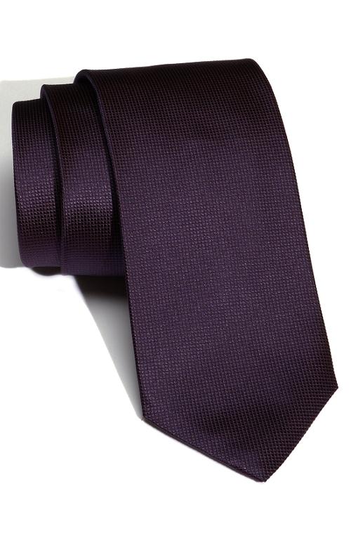 Woven Silk Tie by Boss Hugo Boss in Hot Pursuit