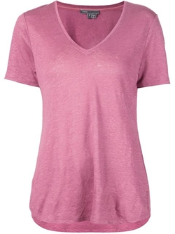 V-Neck T-Shirt by Vince in New Girl