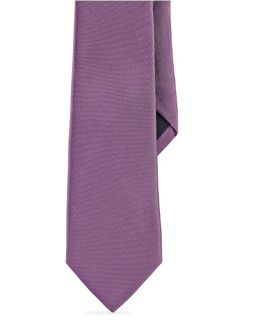 Solid Peau De Soie Tie by Ralph Lauren in The Counselor