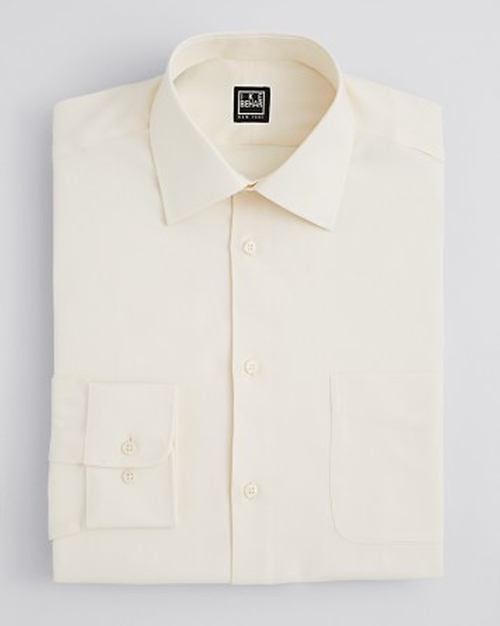 Diagonal Twill Dress Shirt by Ike Behar in The Man from U.N.C.L.E.