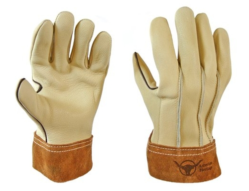 Ranch Hand Goatskin Gloves by Bear Wallow Glove Company in The Best of Me