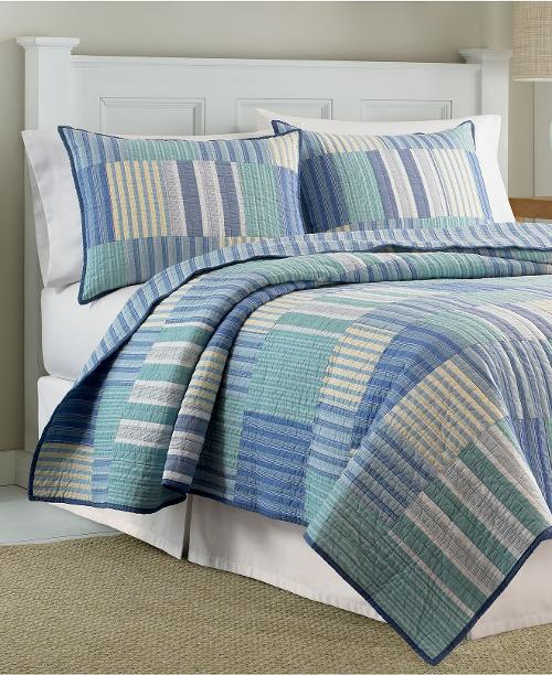 Belle Isle Quilt Collection by Nautica in Ted