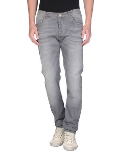 Straight Leg Denim Pants by Officina 36 in Dope