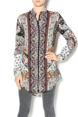 Floral Paisley Tunic by Cotton Candy in The Good Wife