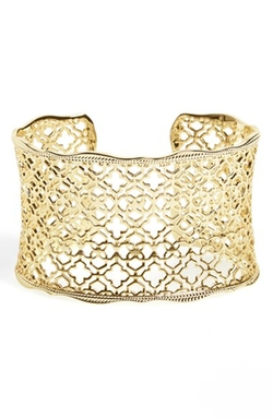 'Mystic Bazaar - Candice' Wide Cuff by Kendra Scott in Sisters