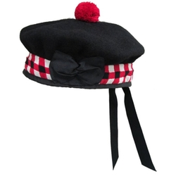 Wool Balmoral Kilt Beret by Tartanista in Popstar: Never Stop Never Stopping