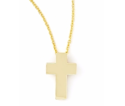 Cross Necklace by Roberto Coin  in Jane the Virgin