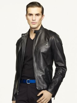 Café Biker Jacket by Ralph Lauren in Top Five