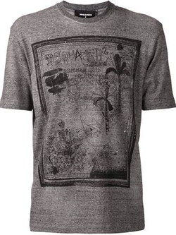 Graphic T-Shirt by Dsquared in Ballers
