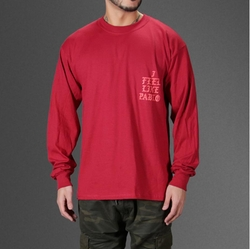 I Feel Like Pablo Long Sleeve T-Shirt by Yeezy in Keeping Up With The Kardashians