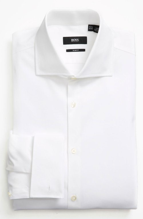Slim Fit Dress Shirt by Boss Hugo Boss in Shutter Island