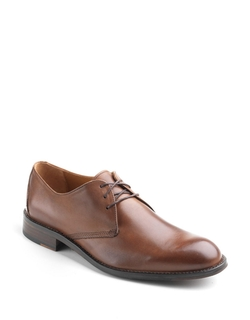 Hartley Leather Oxford Shoes by Johnston & Murphy in Ashby