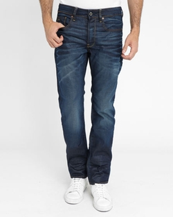 Midnight Blue Straight Jeans by G-Star in Easy A