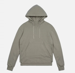 Kake Mock Pullover Hoodie by John Elliott in Keeping Up With The Kardashians