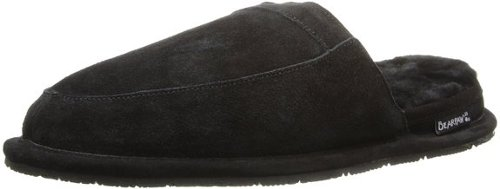 Men's Finnick Mule Slippers by Bearpaw in Black or White