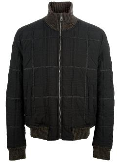 Checked Padded Jacket by Dolce & Gabbana in Get On Up