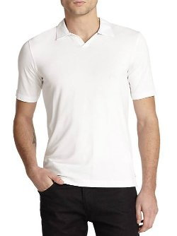 Johnny Collar Polo Shirt by Armani Collezioni in Drive