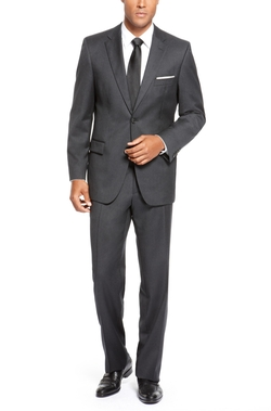Virgin Wool Suit by Boss Hugo Boss in Dr. No