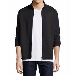 Travus Scuba Front-Zip Jacket by Theory in Sneaky Pete