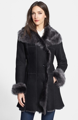 Genuine Shearling Coat by Hide Society in On Her Majesty's Secret Service