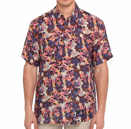Tropical Floral Button Up Shirt by Marc Jacobs in New Girl