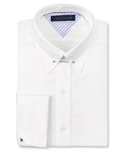 White French Cuff Dress Shirt by Tommy Hilfiger in The Matrix
