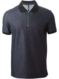 Contrast Collar Polo Shirt by Neil Barrett in Begin Again