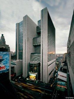 New York City, New York by New York Marriott Marquis in John Wick