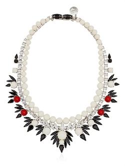 Dipped In Rhodium Necklace by Ellen Conde in Bridesmaids