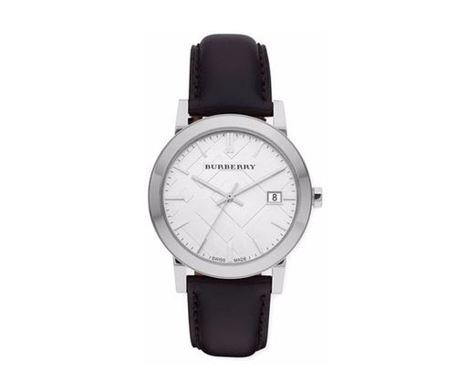 Sunray Dial Check Watch by Burberry in Fist Fight