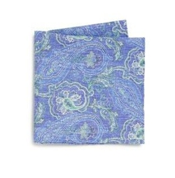 Paisley Pocket Square by Saks Fifth Avenue Collection in The Good Place