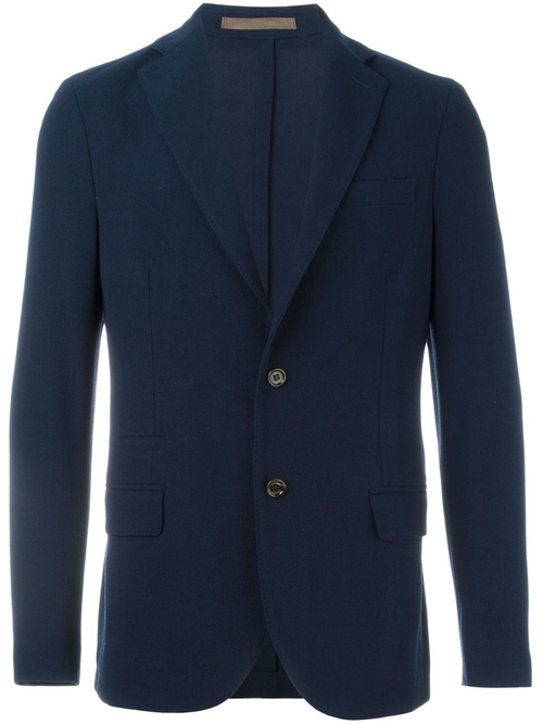 Notched Lapel Blazer by Eleventy in The Big Short