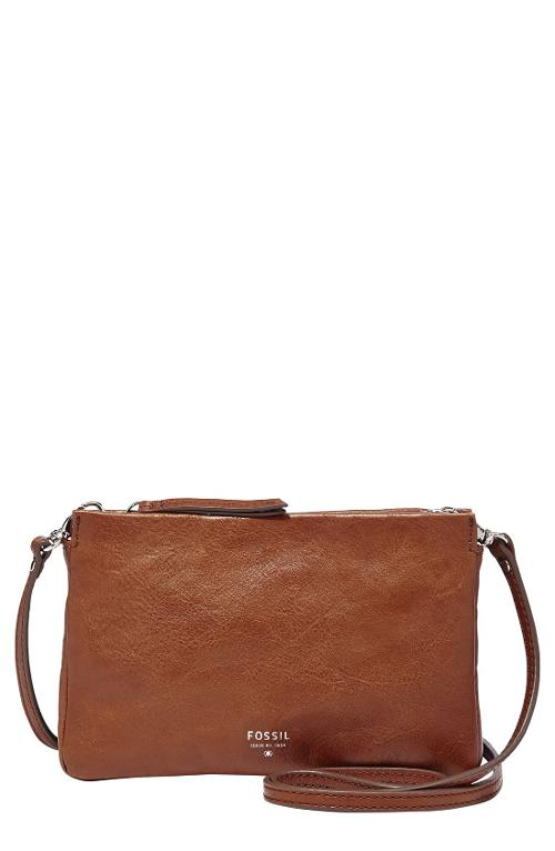 'Mini' Crossbody Bag by Fossil in What If