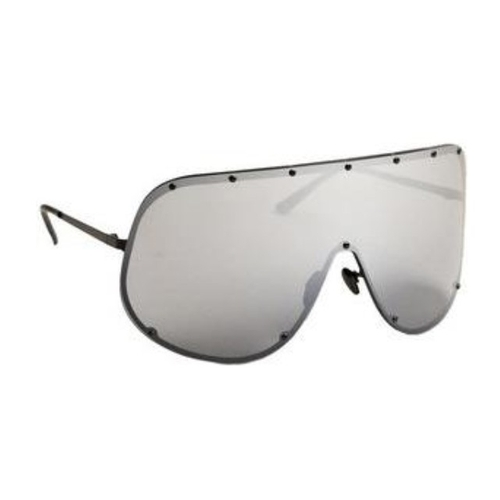Oversized Shield Sunglasses by Rick Owens in Keeping Up With The Kardashians - Season 12 Episode 11