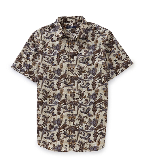 Paisley-Print Woven Shirt by Cremieux in Straight Outta Compton