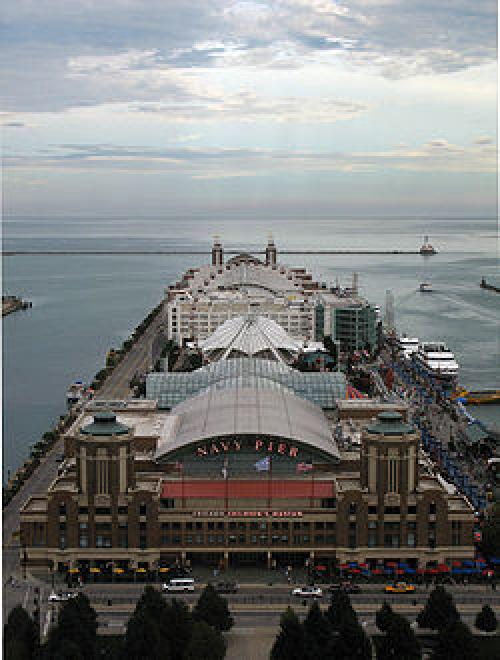 Navy Pier Chicago, Illinois in Divergent