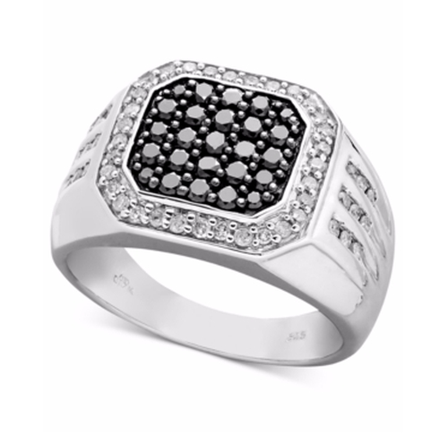 Diamond Square Ring by Macy's in The Boss