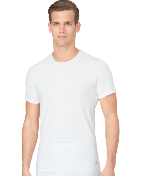Men's Slim-Fit Crew-Neck T-Shirt by Calvin Klein in Mr. & Mrs. Smith