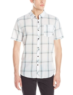 Wide Open Short Sleeve Woven Shirt by Billabong in Modern Family