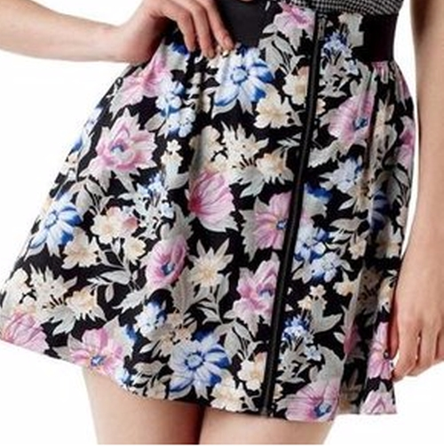 Floral Skirt by I Heart Ronson in Gossip Girl - Series Looks