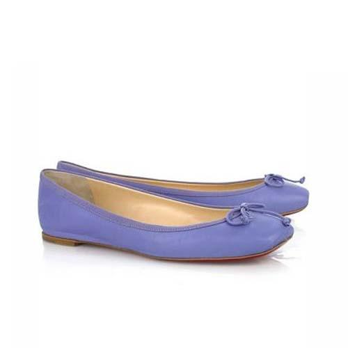 Rosella Ballerina Blue by Christian Louboutin in The Other Woman