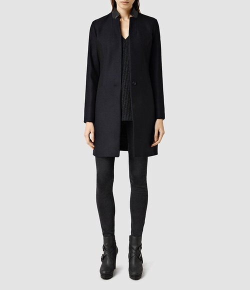 Vita Vine Coat by Allsaints in Elementary - Season 4 Episode 1
