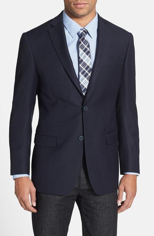 Trim Fit Wool Blazer by Michael Kors in Rosewood - Season 1 Episode 8