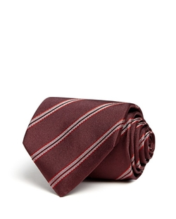 Diagonal Stripe Classic Tie by Armani Collezioni in Supernatural